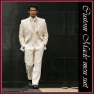 free shipping-- Professional Tailored pure linen men suit