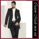 free shipping-- Professional Tailored and pure handmade men suit