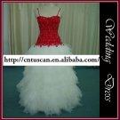 Real sample-free shipping wedding dress XMA021
