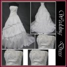 fee shipping 2010 new arrival wedding dress040