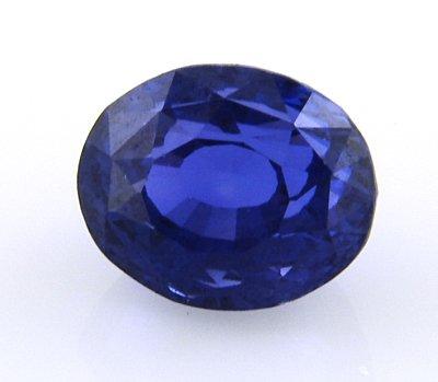5 Carat MARVELOUS BLUE OVAL FACET SAPPHIRE !SPARKLE!