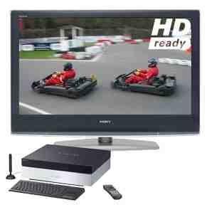 "Sony Vaio Media Centre, VGX-XL100 with Sony Bravia 32"" KDL32S2010 HD/LCD Television"