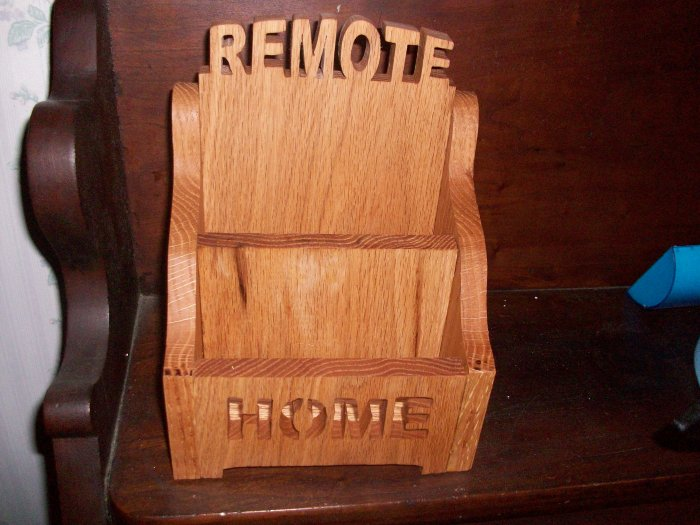 Remote controls caddy