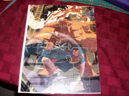 Fantastic four wooden jigsaw puzzle
