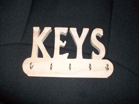 Wooden Handmade key holder