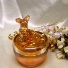 3783 Vintage Scottie Powder Jar~FS