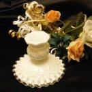 3436 Fenton Spanish Lace Candle Holder