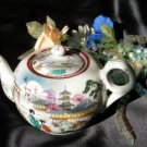 2438 Vintage Japan Geisha Girls Teapot