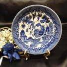 1048 Japan Vintage Blue Willow Saucer