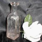 1124 Vintage Glass Pharmacy Medicine Bottle