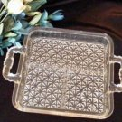 2260 Vintage Diamond Quilted 3-Part Relish Tray