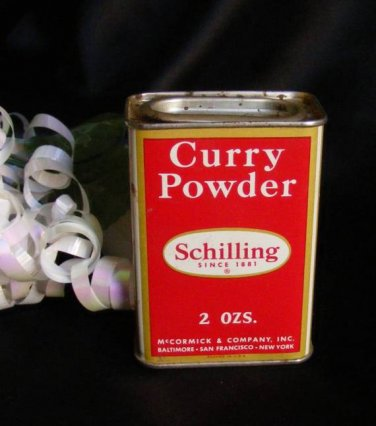3797 Curry Schilling Spice Tin