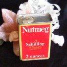 3809 Vintage Schilling Nutmeg Spice Tin