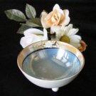 2360 Japan Lustreware Condiment Bowl N Ladle