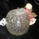 2246 Vintage Jeannette Glass Apple Candy Bowl
