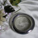 1720 Sterling Silver Coaster