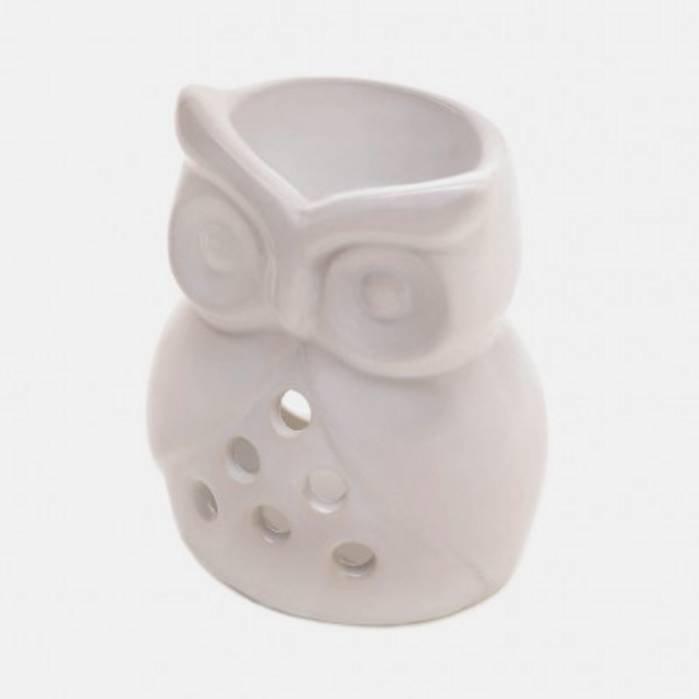10015974 Tabletop Owl Oil Warmer