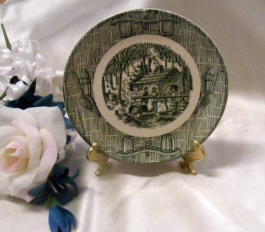 2389 Scio Currier and Ives Bread N Butter Plate