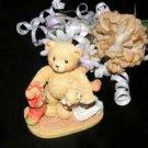 3649 Jacob Cherished Teddies Bear Wishing For Love