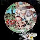 229 Danbury Hummel Squeaky Clean Plate