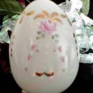 3269 Fenton Mother of Pearl HP Blown Egg