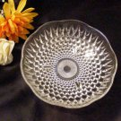 1015 Anchor Hocking Scalloped Sunburst Hobnail Candy Bowl
