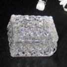 3648 Crystal Cut Diamond Point Trinket Box