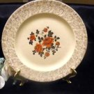 3727 Antique Steubenville Trend Red Roses Dinner Plate