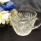 1621 Anchor Hocking Arlington Clear Punch Cup
