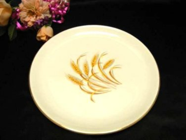 2410 Homer Laughlin Golden Wheat Dinner Plate