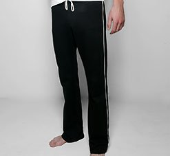 American Apparel 5449 Extra Small Black/White Track Pants