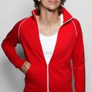 American Apparel 5455 Large Red/White