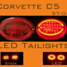 Corvette C5 LED Tail lights 97-04 ORIGINAL VERSION