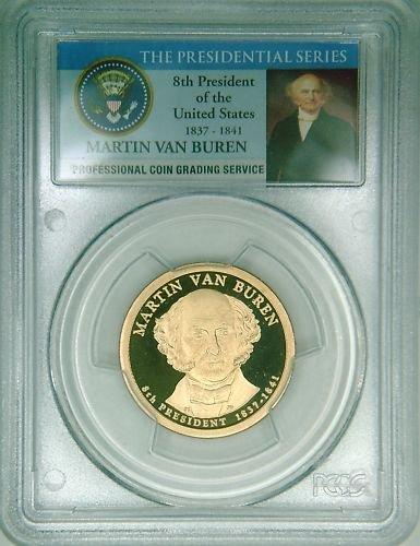 2008S PCGS PR69DCAM proof Van Buren dollar Limited Ed