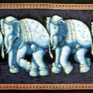 Batik Indian Elephant Wall Hanging Tapestry Ethnic India  Vintage Home Decor Rajasthan