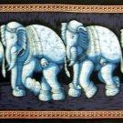 Batik Indian Elephant Wall Hanging Tapestry Ethnic India  Vintage Home Decor Rajasthan