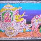 Rajasthani Royal Princess Decorative Tapestry Camel Indian Sequin Wall Hanging bohemian Decor Art