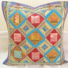 Handmade Patchwork Extra Large Cushion Toss Pillow Covers Sofa Couch Throw Ethnic Decor India