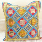Ethnic Tribal Patchwork Extra Large Cushion Toss Pillow Covers Sofa Couch Throw Ethnic Decor India
