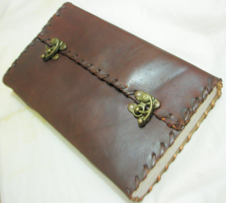 Handmade Paper Leather Journal Large Blank Diary Vintage Writing Notebook Sketchbook Art