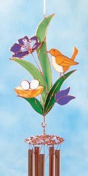 Bird and Nest Windchime