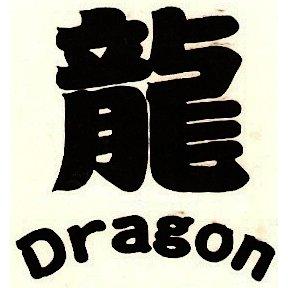 "1.5"" ""Dragon"" Chinese Symbol Tattoo"