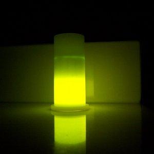 CLEARANCE!!! 1.5 oz. Yellow Glowing Shot Glass