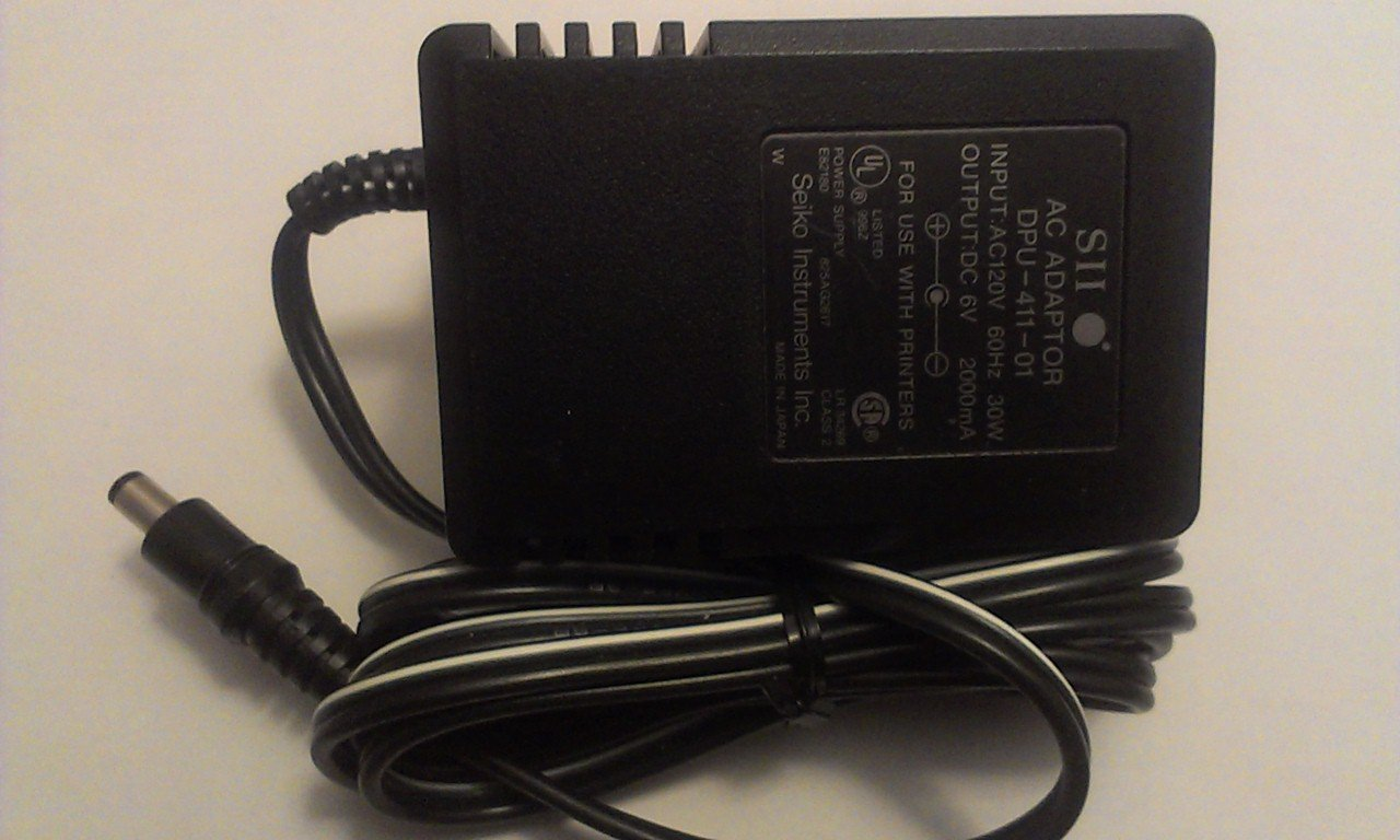 Seiko Instruments AC Adaptor DPU-411-01