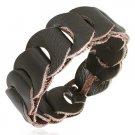 Genuine Braided Leather Bracelet