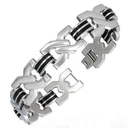 Stainless Steel Wristband Bracelet