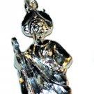 Sterling Silver Charm Pendant Saint Jude San Judas Tadeo