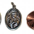 Sterling Silver Our Lady of Perpetual Help Virgen del Perpetuo Socorro Charm Pendant Medal