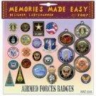 Armed Forces Badges