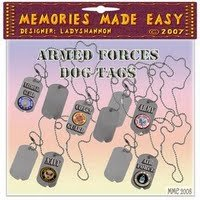 Armed Forces Dogtags